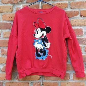Disney Minnie Mouse Pullover Sweatshirt